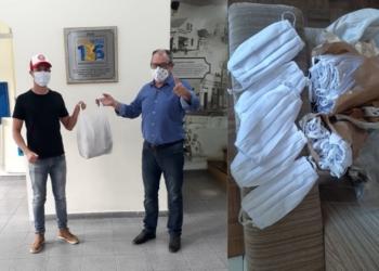Comitê de Solidariedade ao Enfrentamento do Coronavírus recebe doação de 170 máscaras do Social Kombi — Prefeitura de Gravataí