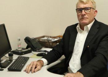 Luis Stumpf, do PSB, assumiu o comando da Secretaria Municipal da Família, Cidadania e Assistência Social — Foto: Douglas Glier Schütz
