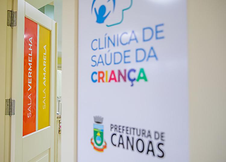 Prefeitura de Canoas ampliou atendimento pediátrico com inauguração da Clínica da Criança — Foto: Vinicius Thormann