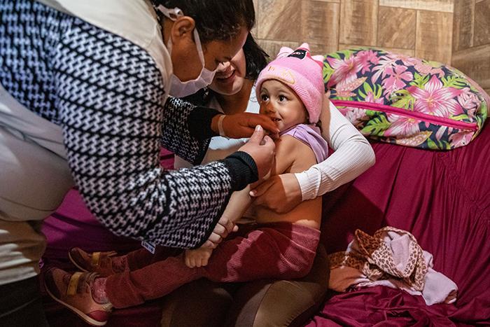 Dados evidenciam sucesso da Prefeitura na imunização dos canoenses — Foto: Vinicius Thormann