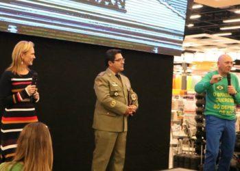 Acigra foi a única entidade empresarial da região presente no evento — Fotos: PMG