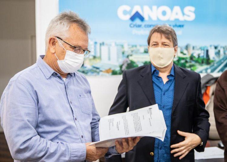 Recursos foram destinados pelo deputado federal Bibo Nunes — Foto: Vinicius Thormann/PMC