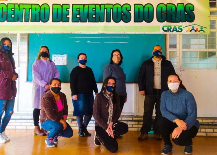 Equipe da SMDS motivada em ajudar na pandemia