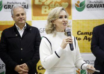 Patrícia Alba faz um convite à comunidade para mobilizar amigos, familiares e conhecidos a participarem da iniciativa, mesmo que de forma indireta, considerando os cuidados com o coronavírus — Arquivo/PMG
