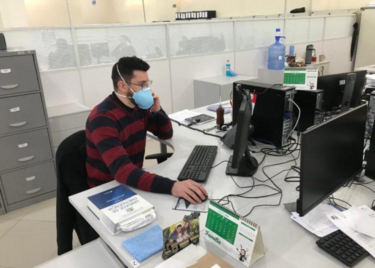 Coordenador Médico de Família e Comunidade, Gustavo Carvalho — Foto: Gustavo Bica/PMG