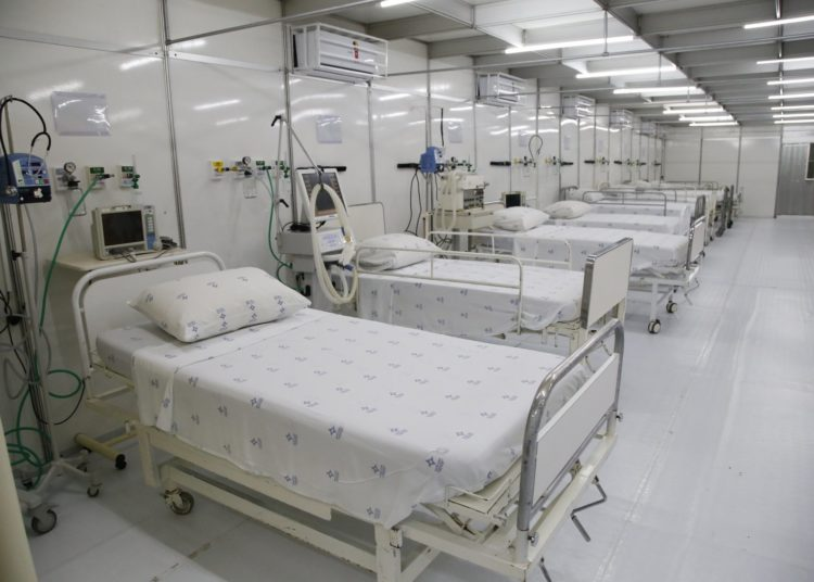 Hospital de campanha de Gravataí foi montado junto ao Hospital Dom João Becker