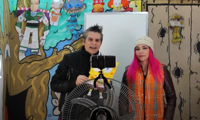 Jerri Costa e Taise Teixeira, de Cachoeirinha, participam de documentário do vencedor do Oscar Kevin Macdonald