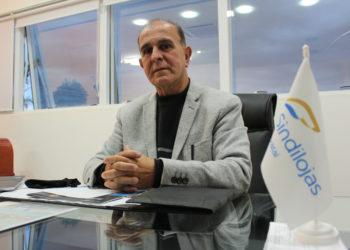 Presidente da entidade há 4 mandatos, José Rosa promoveu uma verdadeira revolução no Sindilojas Gravataí — Foto: Rafael Trajano/Vale Notícia