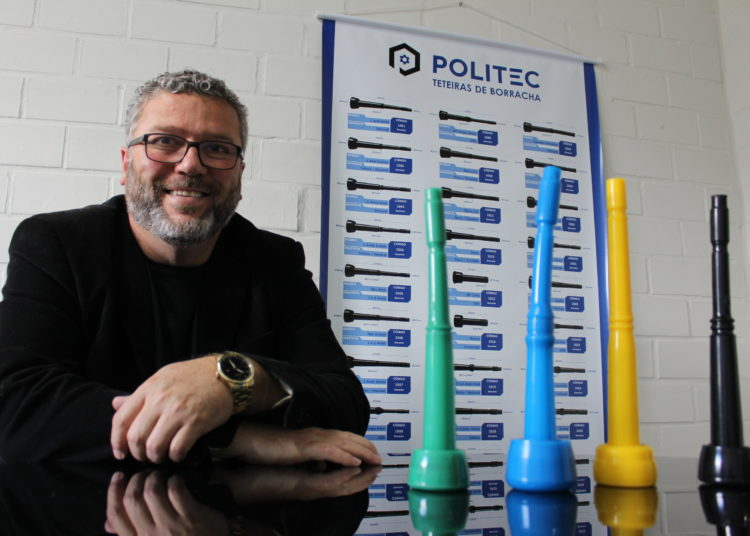 Luciano Camargo é sócio diretor da Politec, empresa de Gravataí que é uma das maiores fabricantes de teteiras do Brasil